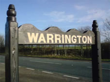 Solicitor Warrington Sign