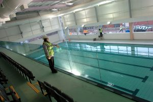 winsford swimming pool chlorine levels accident