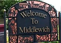 Solicitor Middlewich Welcome Sign