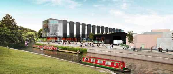 Barons quay from the River Weaver