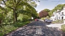 Car Accident in Alderly Edge