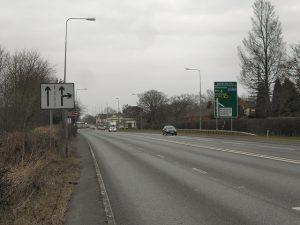 A556 Bucklow Hill