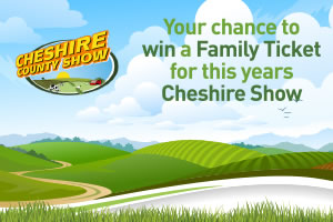 Win tickets to the Cheshire County Show