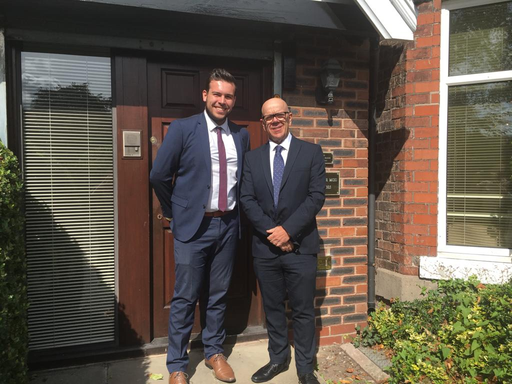 Congratulations to our newly qualified solicitor, Tom Owen